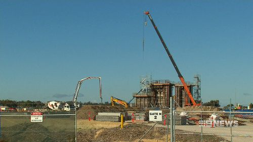 The plant will be the second to be built in Kwinana. (9NEWS)