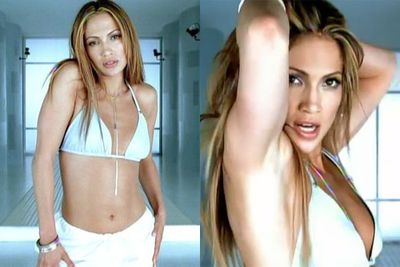...Then she dyed her brown locks blonde and showed off her toned midriff for the 'If You Had My Love' clip in 1999...