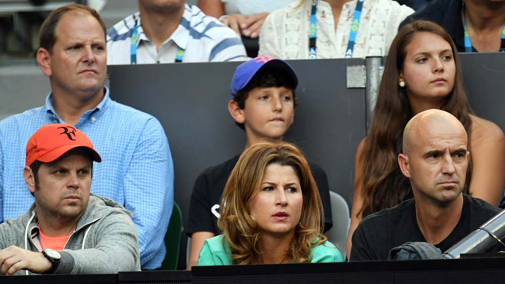 Family man Federer never dreamed of looking up at his kids