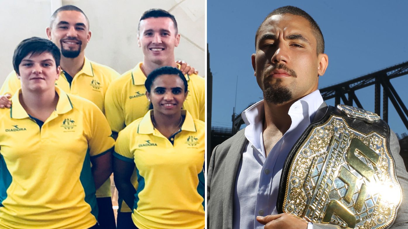 Australian Robert Whittaker pulls out of Commonwealth Games wrestling team for UFC 225