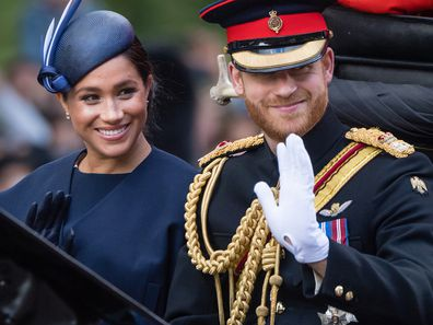 The Duke and Duchess at Trooping the Colour in 2019.