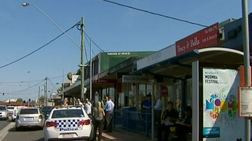 The two gunmen stormed the post office on Military Road at about 2.30pm. (9NEWS)