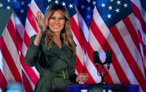 Melania Trump makes first solo US election campaign speech