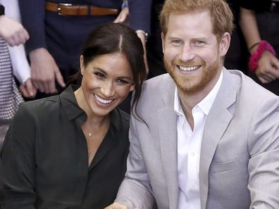 Prince Harry and Meghan Markle pictured in 2018.