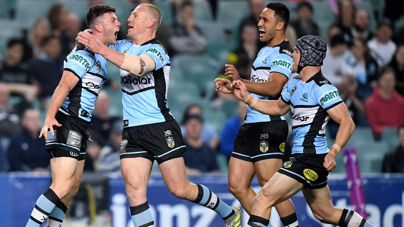 NRL: Cronulla Sharks see off Penrith Panthers comeback in blockbuster final