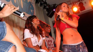 Rihanna was just 17 when she first started getting noticed at events like this one presented by <i>Teen People Magazine</i>.