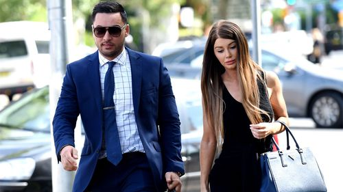 Salim Mehajer and wife Aysha.