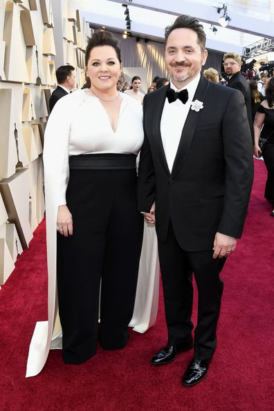 Melissa McCarthy and Ben Falcone attend the 91st Annual Academy Awards at Hollywood and Highland on February 24, 2019 in Hollywood, California.