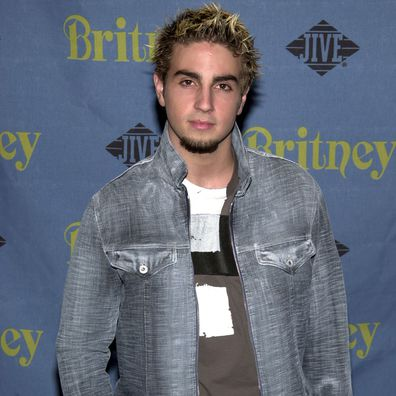 Wade Robson attends Britney Spears album release party for Britney at Centro-Fly in 2001.