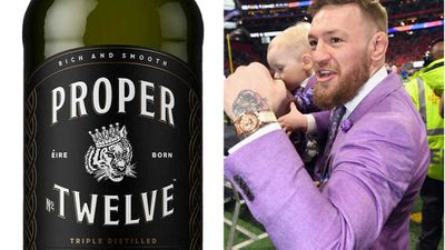 Conor McGregor's launches whiskey brand