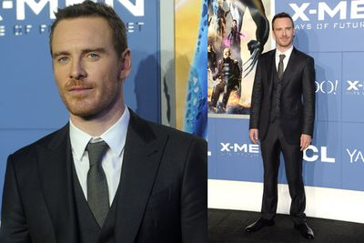 Well hello there Michael Fassbender.