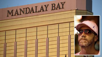 Professional gambler R.J. Cipriani claims 'weak security' allowed an 'abomination' to unfold from the 32nd floor of Mandalay Bay hotel. (AP)