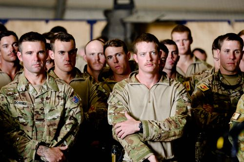 Australian combat troops were withdrawn in December 2013, but 400 personnel remain in Afghanistan as trainers and advisers.