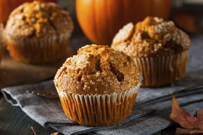 <strong>Put pumpkin in your muffins</strong>