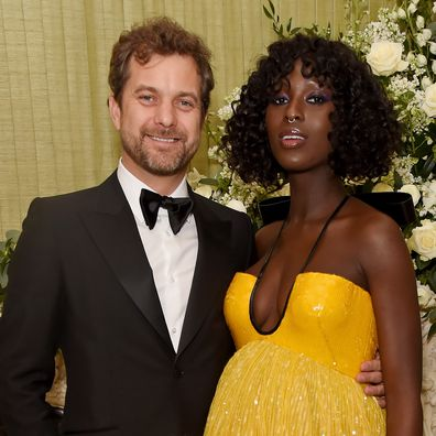 Joshua Jackson and Jodie Turner-Smith attend the British Vogue and Tiffany & Co. Fashion and Film Party at Annabel's on February 2, 2020 in London, England.