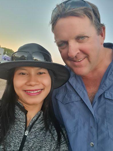 Tony with his wife Tari