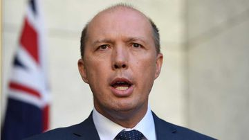 Immigration Minister Peter Dutton. (AAP)