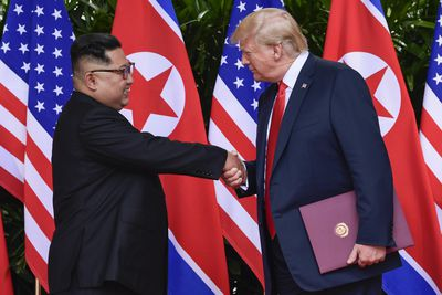 Trump-Kim summit, June 12<br>