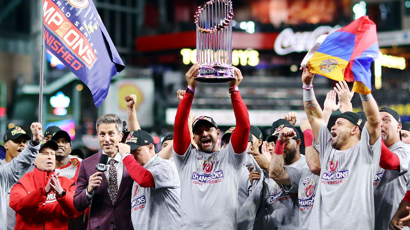 Washington Nationals win first World Series title with Game 7 comeback against Houston Astros