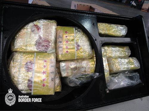 Australian authorities make the largest onshore meth bust in the country's history