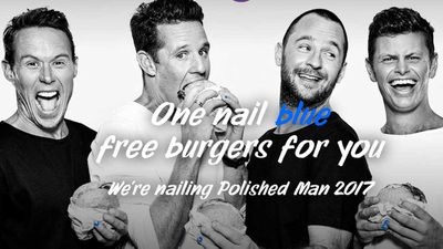 <strong>Free Grill'd burgers for a cause:</strong>
