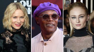 Celebrity lookalikes Naomi Watts, Samuel L Jackson and Sophie Turner