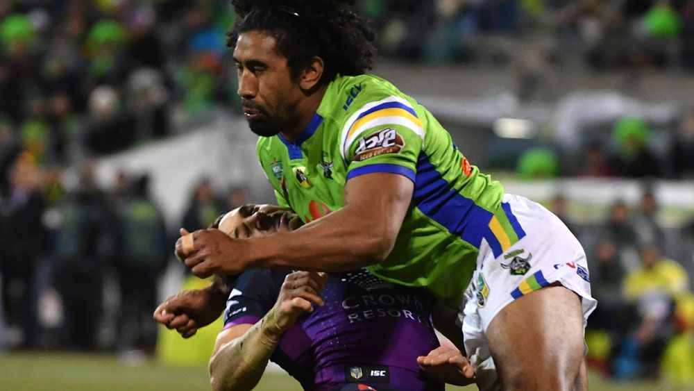 Sia Soliola referred straight to NRL judiciary for dangerous contact on Billy Slater
