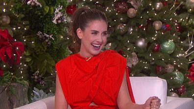 Alison Brie recounts showing Ellen a raunchy picture of a stranger.