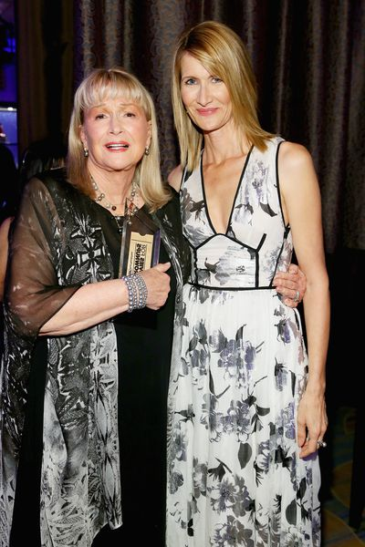 Laura Dern and actress mother Diane Ladd.