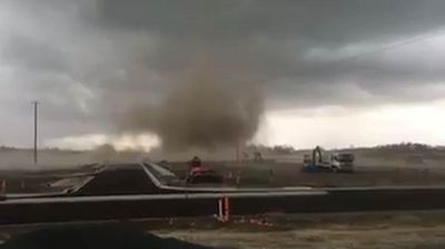 "<p>Incredible video has emerged showing the intensity of the storms that battered parts of Queensland yesterday. </p><p>  Footage shows fierce, tornado-like winds tearing through a suburb in Brisbane's west, which ""flipped a car on its roof"". </p><p>  The video emerged after a wild Wednesday in which rain and storms lashed south-east Queensland.</p><p>   Matty Gilchrist posted the clip on the Higgins Storm Chasing Facebook page after capturing the twister on film in Providence, South Ripley, in Brisbane's west.</p>"