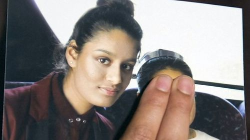 Shamima Begum is desperate to return to the UK after giving birth.