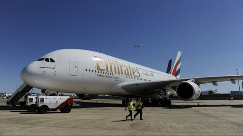 Emirates Airline has debuted a new first-class suite with virtual windows. (AAP)