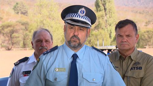 NSW Police Superintendent Paul Condon.