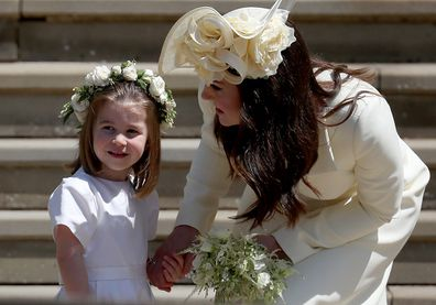 Kate and Charlotte and Prince Harry wedding.