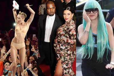 Oh woah…it's been a belter of a year. Actually, it's been non-stop craziness. So with Christmas on our doorstep, we thought it was time to take a look back at what made us go oooh, arghh and awks.  From Miley's twerking to Kim's sofa dress, we bring you the best celeb moments of 2013.