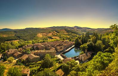 Santa Fiora in Tuscany