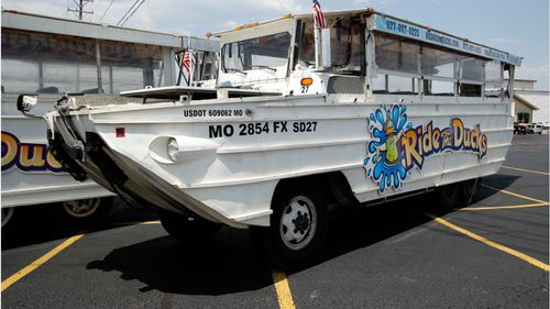 Duck boats can drive on land and float on water and have a history of fatal accidents. Image: AAP
