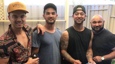 Left to right: Guy, Jeremy, Chris and Ollie Sebastian