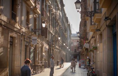 Pintxos bars in San Sebastian's Old Town
