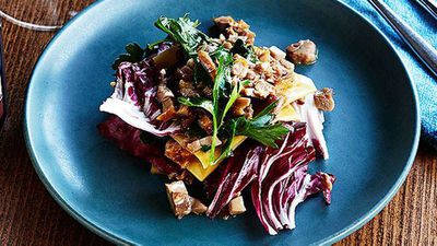 Mitch Orr's duck and radicchio lasagne