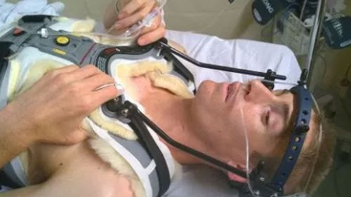 Steve Plain from Perth was  told by doctors he should be in a wheelchair, but he defied the odds.