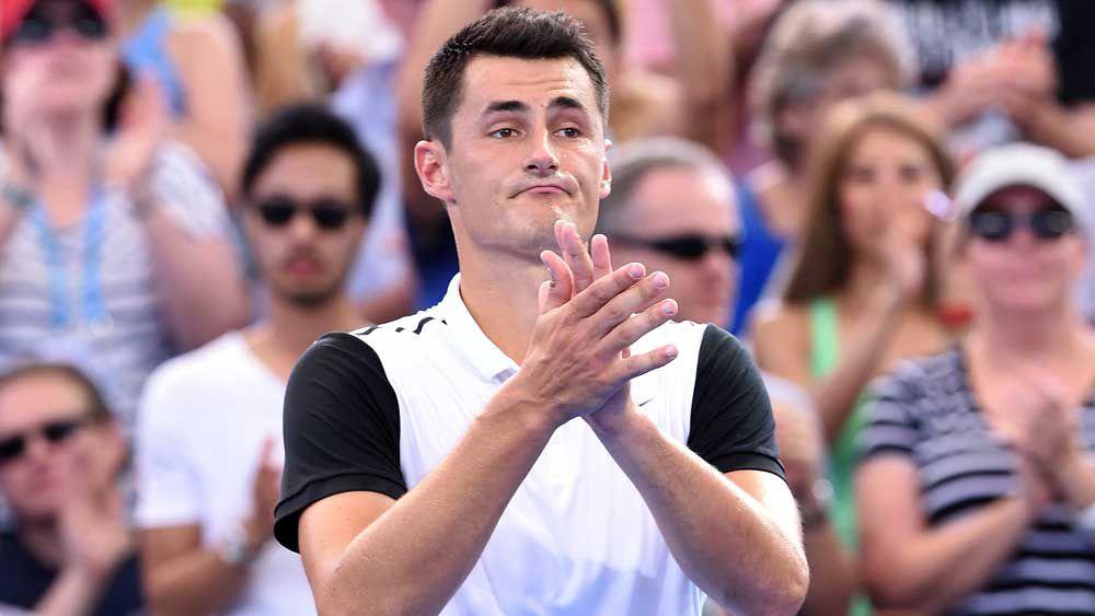 Federer shoots down Tomic's top ten hopes