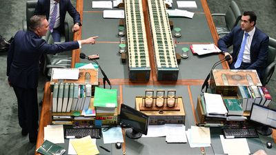 'He forgot to sit in a chair!': Bowen blows up at absent MPs