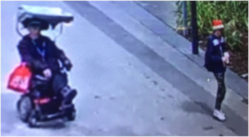 Santa hat-wearing man charged after 'stealing wheelchair'