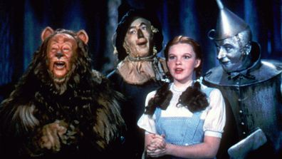 Judy Garland in the 1939 film The Wizard of Oz.