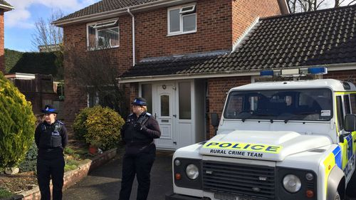 The Skripals were found unconscious on a bench near their Salisbury home on March 4 after being exposed to the nerve agent Novichok.
