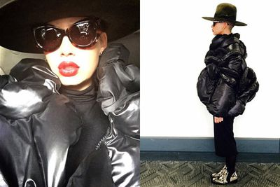 @amberrose: Meanwhile.........I'm fly as f--- #Muva