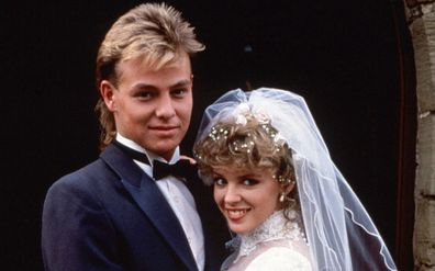 Jason Donovan and Kylie Minogue