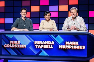 Miranda Tapsell and Mark Humpries on The Hundred with Andy Lee.