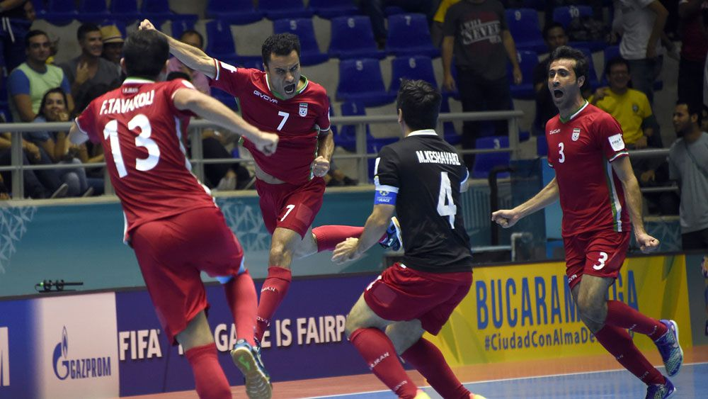Football: Iran cause major upset in Futsal World Cup